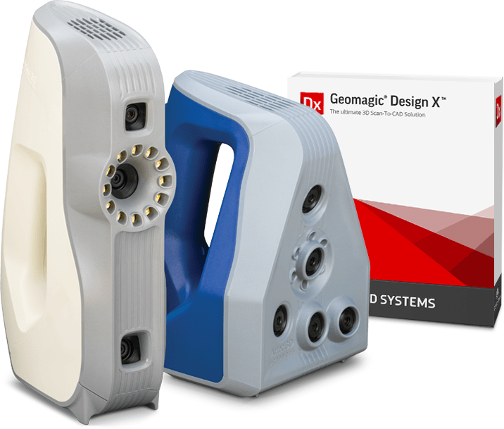 Artec 3D scanners, Artec Studio and Geomagic Design X bundle