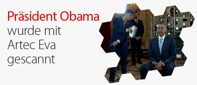 Präsident Obama in 3D